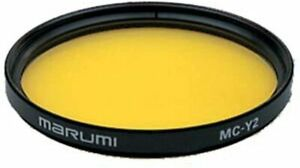 Marumi MC-Y2 Yellow High contrast Monochrome photography filter MADE in JAPAN