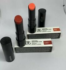 Arbonne smoothed over Gladiola And Zinnia Lipstick New In Box 2 pack