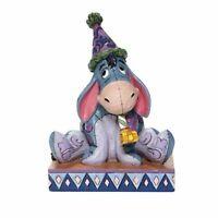 Disney Traditions - Eeyore with Birthday Hat Horn - Birthday Blues