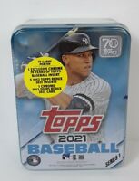 🔥2021 Topps Series 1 Baseball Collector's Tin / Aaron Judge/ Factory Sealed