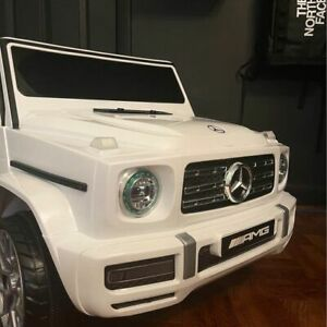 New Mercedes Benz G Class Kids Ride On Car Music + Remote Control Electric Toy