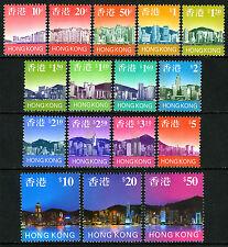 Hong Kong 763-778, MNH. Panoramic Views of Hong Kong Skyline, 1997