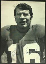 1960's Norm Snead Philadelphia Eagles QB Signed Photo NFL Football Vintage