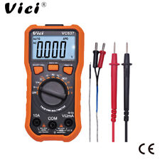 Digital Multimeter VC837 Electrical Electronics Tester Testing Tool AC/DC 3 5/6