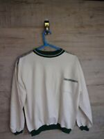 vtg Cool 80s  90s taper spellout sweatshirt sweater jumper refA7 large