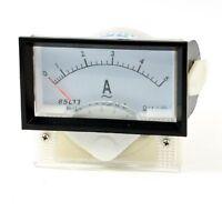 1Pcs 85L17 AC 0-5A 70mm x 40mm Analog Ampere Panel Meter Gauge Amperemeter