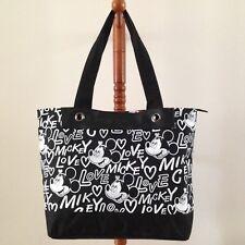 DISNEY MICKEY MOUSE Handbag Clutch Purse Tote Shopper Shoulder Bag W44xH30 cm L.