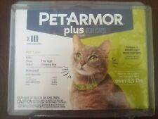 Petarmor Plus Flea  Tick Prevention For Cats With Fipronil (Over 1.5 Lb), 3 Mon