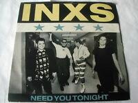 "INXS - NEED YOU TONIGHT - MERCURY 7"""