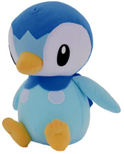 Official Licensed Pokemon Piplup Plush Stuffed Figure Doll Toy Gift Kids USA