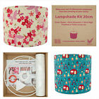 Lampshade Kit - Make Your Own Lampshade - 20cm, 30cm & 40cm Diameter Drum