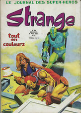 RARISSIME EO 5 AOÛT 1973 STAN LEE + REVUE STRANGE N° 44 (  SUPERBE ÉTAT  )