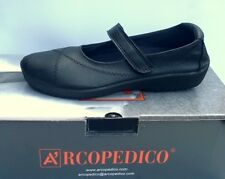 Arcopedico L18 Black Women's Mary Jane Shoes 6.5
