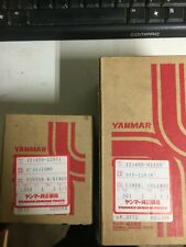 Yanmar Piston w/ Springs and Cylinder Liner PAIR