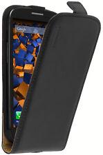 mumbi Ledertasche für Samsung Galaxy S3 Tasche Schutzhülle Case Cover schwarz