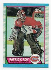 1989-90 Topps #17 Patrick Roy Montreal Canadiens