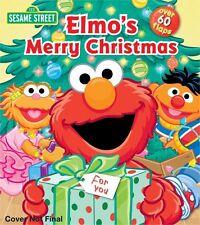Sesame Street: Elmos Merry Christmas (Lift-the-Flap) by Sesame Street