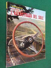 Rivista/Magazine QUATTRORUOTE n.106 bis 1964 SPECIALE PER L'AUTOSTRADA DEL SOLE