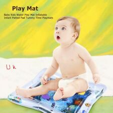 Inflatable Water Play Mat Infants Baby Toddlers Kid Perfect Tummy Time 26X19.7in