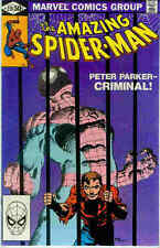 Amazing Spiderman # 219 (Frank Miller-cover) (USA,1981)