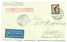 GERMANY GRAF ZEPPELIN FLIGHT COVER 1929 SIEGER 40A  C32