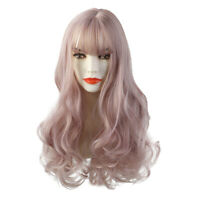 Natural Women Fashion Lady Anime Long Curly Wavy Hair Party Cosplay Full Wig