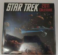 Star Trek The Original Series 2011 Wall Calendar Sealed in Original Packaging