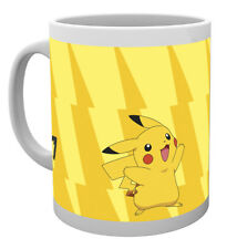 Pokemon Pikachu Evolve 10oz Ceramic Mug Gaming Nintendo Pokeballs Coffee Mug