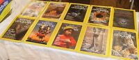 Lot of 10 National Geographic Magazines Mixed years 1997 1981 1982 2005 2008