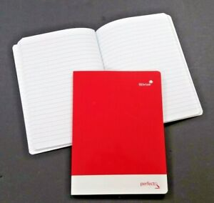 2x SILVINE A5 PERFECTO PREMIUM EXERCISE NOTE BOOKS 160 PAGES FEINT UK MADE PERA5