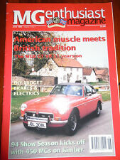 MG Enthusiast Jun 1994 MGB GT V8