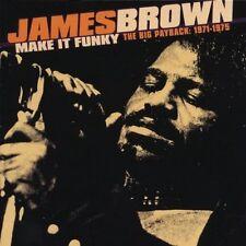 James Brown - Make It Funky: Big Payback 1971-1975 [New CD]