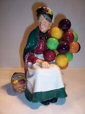 Royal Doulton Porcelain Figurine The Old Lady Balloon Seller HN1315 Old Mark