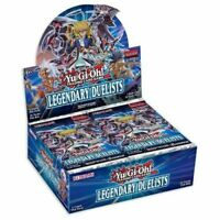 2X Yu-Gi-Oh TCG Legendary Duelists Sealed Booster Box of 36 Packs - Duelist Pack