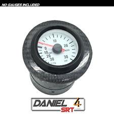 00 05 Mitsubishi Eclipse - Single Gauge Pod  52mm (OEM) Ac Vent Carbon Fiber