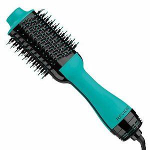 REVLON One Step Hair Dryer And Volumizer Hot Air Brush, Teal