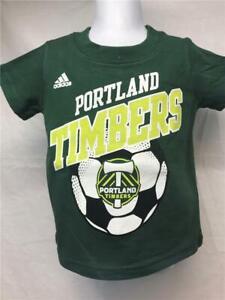 New-Minor Flaw Portland Timbers Kid Size 2T Green Adidas Shirt
