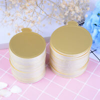100pcs round cake base disposable paper coasters practical cupcake board bases