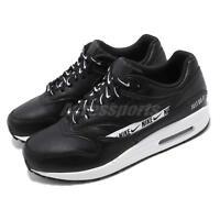 Nike Wmns Air Max 1 SE Just Do It Black Logo White Women Running Shoe 881101-005