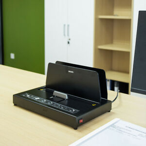 Hot Melt Binding Machine Melt Electric Book Binder for A4 A5 A6 300X40mm
