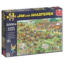 Jumbo Jan Van Haasteren Lawn Mower Race Jigsaw Puzzle (2000-Pieces) NEW