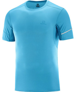Salomon Agile SS Short Sleeve Running Shirt Medium