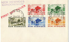 New Hebrides 1953 QEII First Day Cover  Very Fine