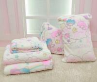 Anime Sanrio Little Twin Stars Soft Flannel Blanket Bed Sheet Throw Plush Smooth