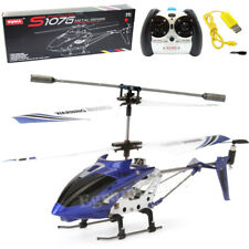 Syma S107G Helicopter Phantom 3.5CH Mini Metal Remote Control RC GYRO Blue