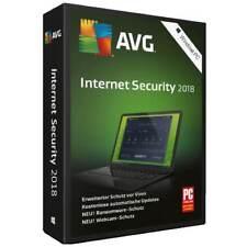 AVG Internet Security 2018 * 3 PC * 1 Jahr * Vollversion * auch 2017 Lizenz