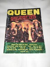 QUEEN GREATEST HITS - Francis Day Milano 1981 - spartiti musicali