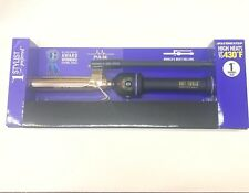 "HOT TOOLS professional 1"" inch  Marcel curling iron/wand 24k Gold 430F heat c"