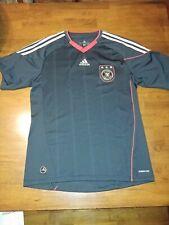 Adidas Men's Size M Black Clima Cool Shirt Deutscher Fussball Bund 2011