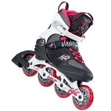 Rollers et patins noirs K2 pour femme